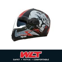 NEW ARRIVAL Double visor full face helmet for motorcycle