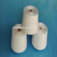 sewing thread Raw white thread 100 pct spun polyester yarn sewing thread 502