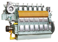 N6210 Series 400kW to 1000kW Marine Water Cooled 4 Stroke Engine