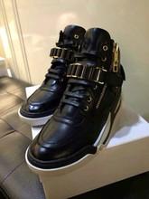 Big sizes Genuine leather Fashion men sneakers, handmade autumn winter men shoes