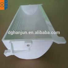 HL21 White plastic elevator bucket/plastic buckets for bucket elevators/food grade plastic bucket