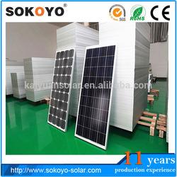 2014 NEW High quality Good price 100 watts solar panels