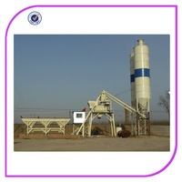 High quality 50M3/h concrete batch plant HZS 50 construction machine