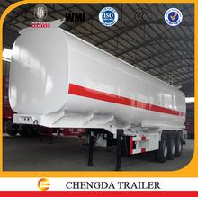 45000 liter 3 axles SCD brand oil tank trailer tanker truck price