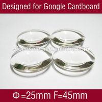 Japan Acrylic Convex Lens for Google Cardboard