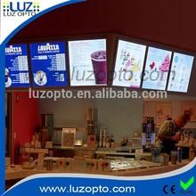 led backlit menu,US fast food price list,fast food restaurant equipment