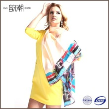 Professional Manufacturer Wholesale viscose+silk scarf for lady