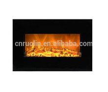 hot sale wall mounted electric fireplace flat panel, imitation electric fireplace