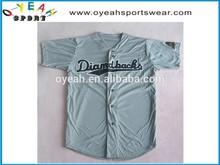 top style custom cool design printed baseball jerseys /wear made in china