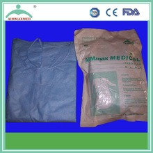 health care use sterile surgical gown SMS fabric