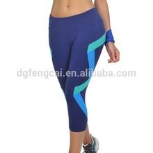 86% nylon 14% lycra custom women yoga apparel wholesale fitness leggings