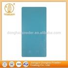 Blue wrinkle texture anticorrosion chemical electrostatic powder coating