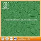Art texture green crack non toxic popular powder paint