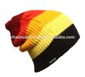 De alta calidad pom pom personalizado barato sombrero del invierno/gorro de punto/sombrero hecho punto