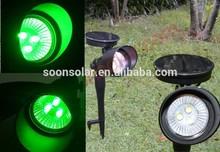Solar garden light(green LED)