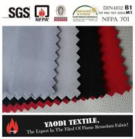 flame retardant thermal curtain fabric