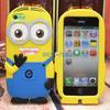 Cute Cartooon Minion Case for Smsung Galaxy S4 mini i9190
