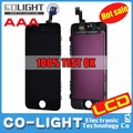 2014 Big Christmas discount!! alibaba china lcd screen for iphone 5s lcd panel, mobile phone replacement part