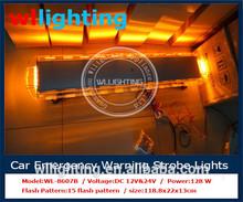"""47"""" Police Light Bar Light with White/Blue/Red/Amber Strobe Light Bar for Warning System"""