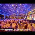 1000 sièges en aluminium Durable transparent en plastique tente