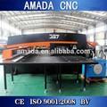 Cerrado tipo hidráulico automático de índice de la torreta cnc pequeño agujero de perforación de la máquina de la prensa de palanca amd-357