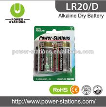 LR20 D alkaline battery