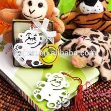 Unique Wedding Souvenir Party Favors and Gifts-Love Bookmark Metal Monkey Bookmark Favors