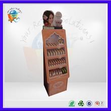 cosmetic cardboard display stand , cosmetic cardboard display,pop up cardboard display stand