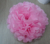 12'' Colorful Tissue Paper Pom Poms paper flowers wedding wall decorations