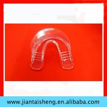 sports transparent mouth tray with FDA