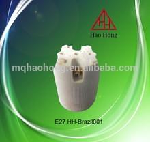 HAO HONG Brazil ceramic Edison E27 lamp cap