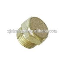 2015 hot sale brass silencer good quality pneumatic silencer brass contactor