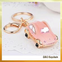 Fashion Zinc Alloy Car Keyring