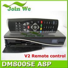 Digital Satellite Tv Receiver Dm800Se A8P DVB-S Single Tuner Clone Box With Original Software
