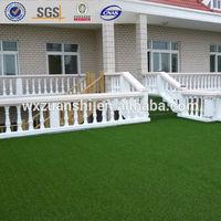 F60232 PE+PP machine made artificial grass carpet for balcony