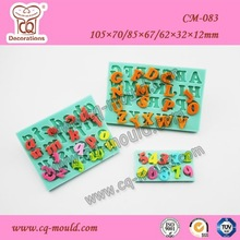 exquisite alphabet numbers silicone moulds