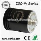 Wholesale refillable perfume atomizers igo w6/RDA rebuiltable atomizer