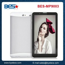 Fasion design phone call 9 inch MTK6572 oem 3g wifi touch tablet with sim card