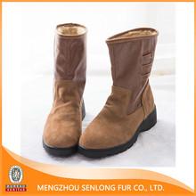 durable non-slip rubber bottom snow boot