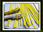 2014 0.6mm-2.0mm Thickness embossed microfiber Leather Strip ,belt,leather cord