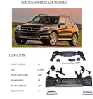 Mercedes Benz body kit for 2013-2014 GLK 300/350/260 upgrade body kit by maker from CHINA