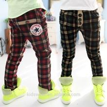 Kz-3095 wholesale fashion children winter child clothes kids clothing boys Korean new long casual warm pants winter trousers