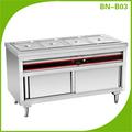 /comercial de catering/kithcen bain eléctrico marie/calentador de alimentos bn-b03( la aprobación del ce)