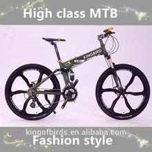 2015 Fashion style folding mountain bike/mountain bicycle with 21/24/27/30 speed ,alibaba China