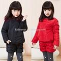 Tz-2008 venta al por mayor de moda de invierno los niños ropa de niño ropa de niños niñas coreano nuevos ocultación de largo- manga pantalones de algodón set