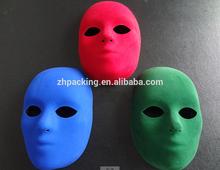 Accept custom colorful halloween mask