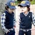 tx0569 toptan moda çocuk kış bahar çocuk giyim çocuk giyim erkek korean yeni sıcak moda moda kolej rahat yelek