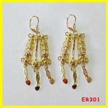 Aliexpress wholesale fashion gold earring&earring jewellry 2012
