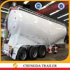 3 axle bulk powder tank semi trailer bulk carrier for sale