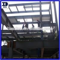 prefabricated steel frame warehouse